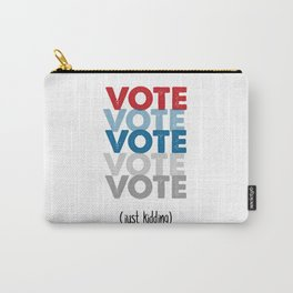 VOTE NOW Carry-All Pouch