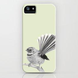 Piwakawaka   NZ Fantail iPhone Case