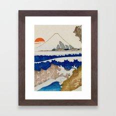 The Coast Searching Framed Art Print