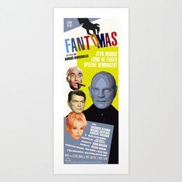 Fantomas Art Print
