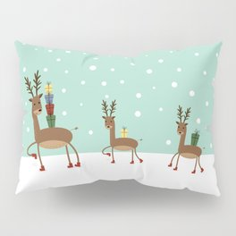 Christmas gifts from the reindeer #society6 #homedecor Pillow Sham