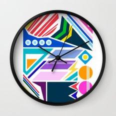 Geo Splash Wall Clock