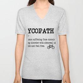 Cycopath Mountainbike Cycling Gift Unisex V-Neck