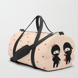 Tiny Ninja Boy and Girl Duffle Bag