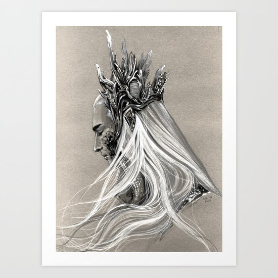 the Elvenking Art Print