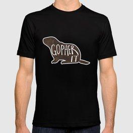 Gopher it! T-shirt