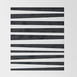 Zebra Stripes Throw Blanket