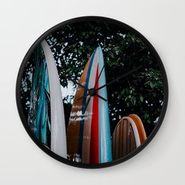 Surf Time Wall Clock