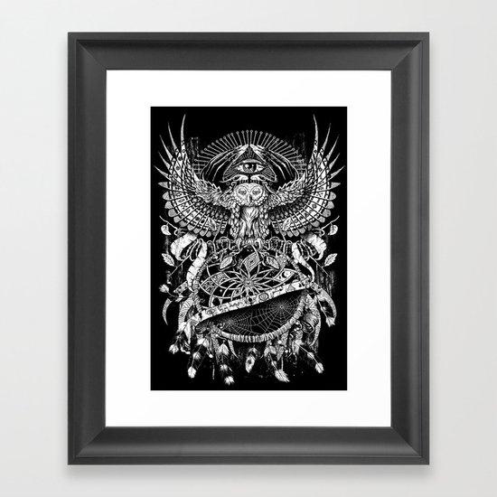 Dream Quest Framed Art Print