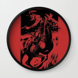 Gordon D Shirreffs - Border Guardians Wall Clock