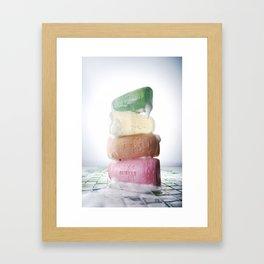 ㅅㄷㄴㅅ Framed Art Print