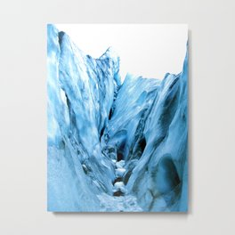 The  Ice Metal Print