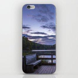 Sunrise at Longbranch Lake iPhone Skin