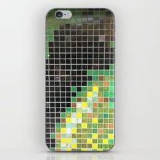 tile wall iPhone Skin