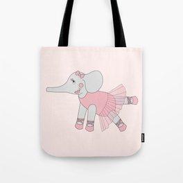 illusima Ballerina Elephant Tote Bag