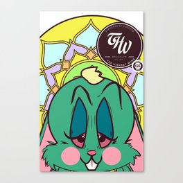 EASTER BUNNY 4-20-2014 Canvas Print