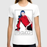 gucci T-shirts featuring Gucci! by Alli Vanes