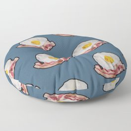 Egg and Bacon Friend Floor Pillow