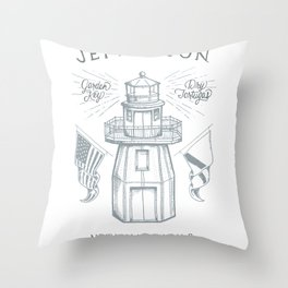 Fort Jefferson Throw Pillow
