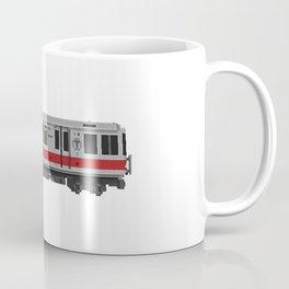 Boston Red Line Subway Train Coffee Mug