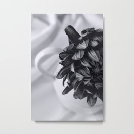 Whispered Beauty - Black and White Art Metal Print
