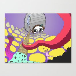 We All Scream for Ice Cream Canvas Print