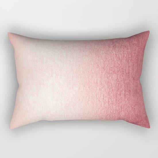Simply Rose Gold Twilight Rectangular Pillow