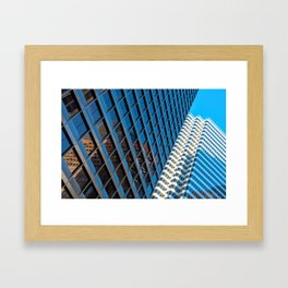 city structures Framed Art Print