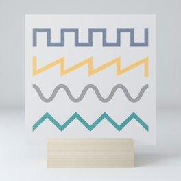 Waveform Mini Art Print