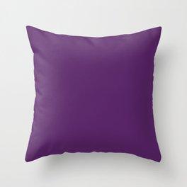 Purple morado violet lila viola roxa пурпурный Throw Pillow