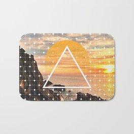 Californian Sunset - Graphic Bath Mat