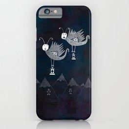 The Radiant Ranges / The Lantern Moths' Commemoration iPhone Case