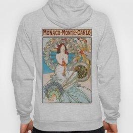 Alfons Mucha - Monaco, Monte Carlo - Digital Remastered Edition Hoody