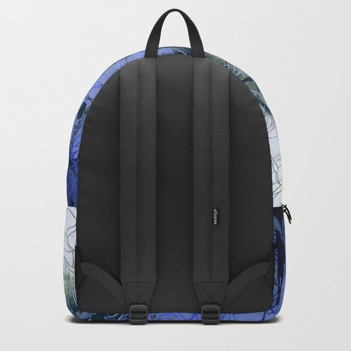 blue Winter Backpack