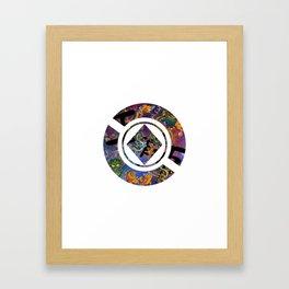 Koi and Dragon Framed Art Print