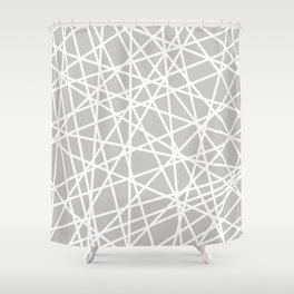 Lazer Dance Shower Curtain