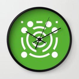 Geometric Calendar (July) Wall Clock