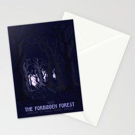 Visit The Forbidden Forest Stationery Cards