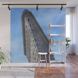Flat Iron Building Wall Mural