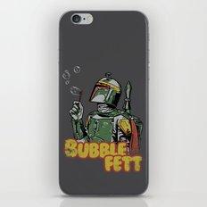 Bubble Fett iPhone & iPod Skin