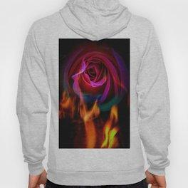 Fire rose Hoody