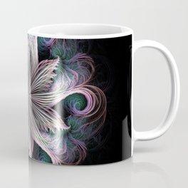 Pink Cloud Pinwheel fractal Coffee Mug