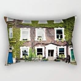 There is a house growing on that tree  Rectangular Pillow