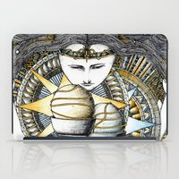 valar morghulis iPad Cases featuring Lady of light by Anca Chelaru