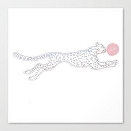cheetah pop Canvas Print