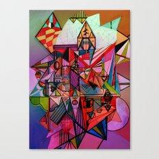 Fête Canvas Print