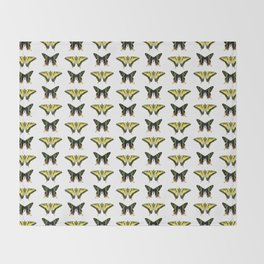 Butterflies & Moths Throw Blanket