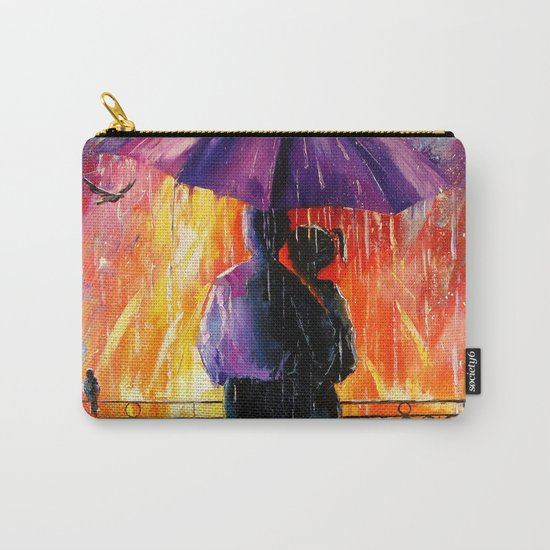 Rain for lovers Carry-All Pouch