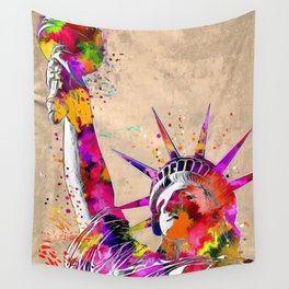 Statue of Liberty Wall Tapestry