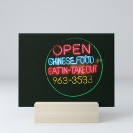 Eat In Take Out Mini Art Print